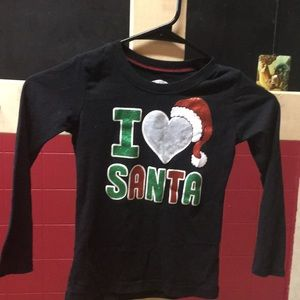 Girls Holiday time size (4-5) shirt